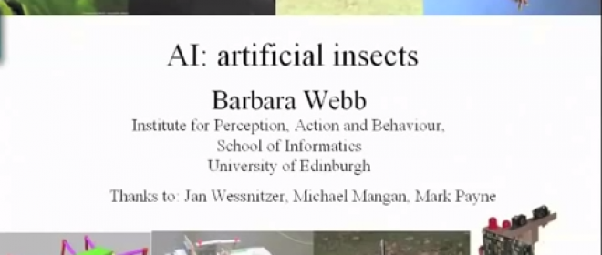Video Friday: Barbara Webb on Insect Robots