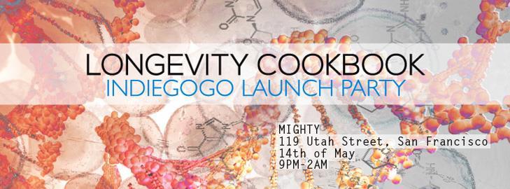 longevity cookbook launch invite