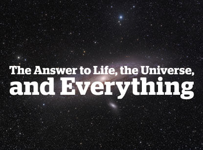 ...,  Consciousness, Life, the Universe and Everything - h Mediah Media
